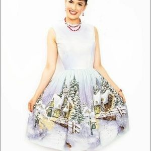 Bernie Dexter winter wonderland dress